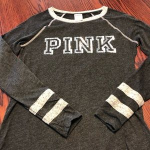 Pink Long-sleeve T-shirt